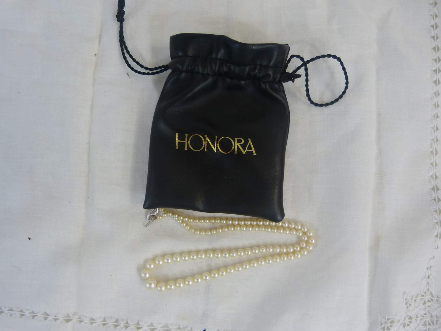 """Lot # 133 Honora 18"""" Pearls with 14K clasp NEW (main image)"""