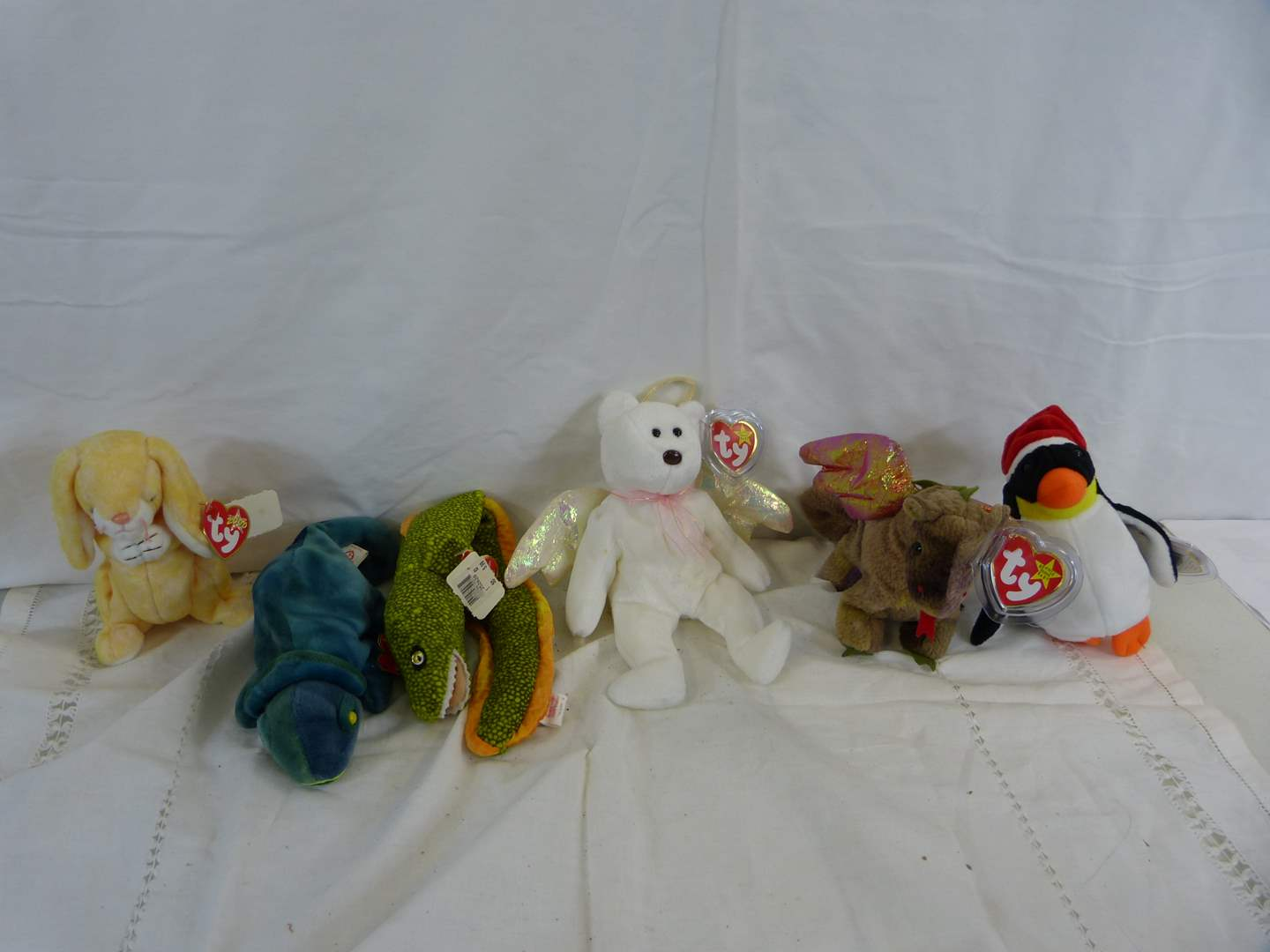 Lot # 36 Group of new with tags Beanie Babies (main image)