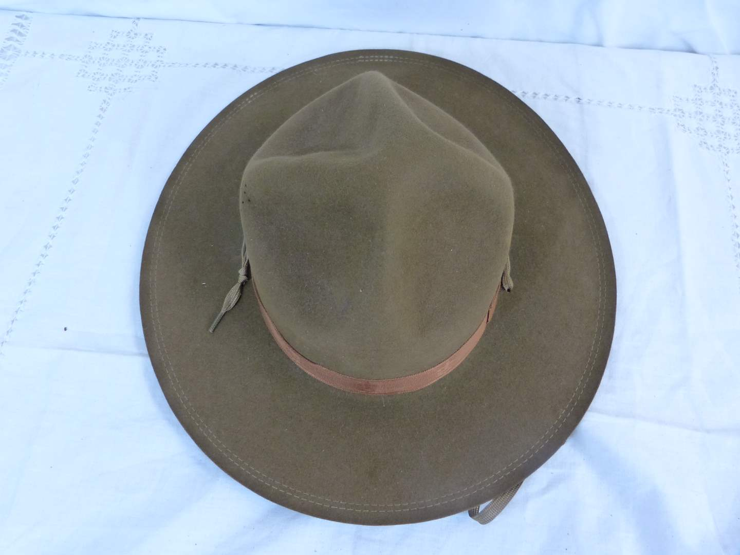 """Lot # 66 AUTHENTIC """"Boy Scouts of America"""" Official hat six 6 3/4 (main image)"""