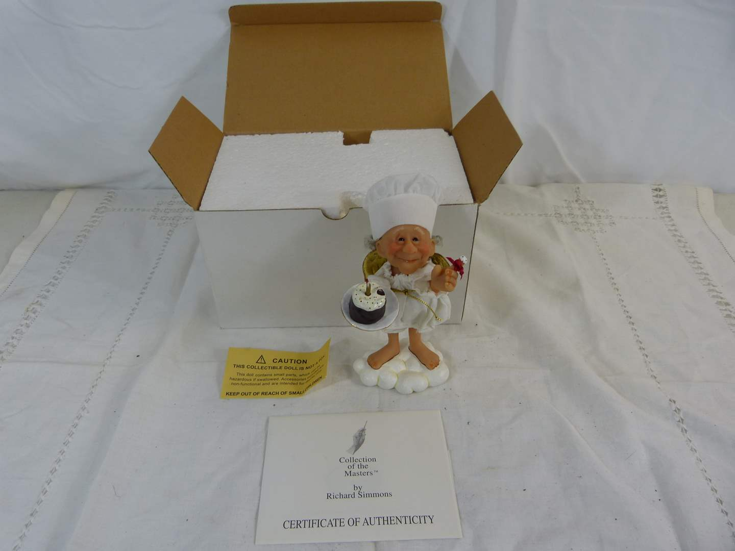 Lot # 89 Collection of the Masters by Richard Simmons Figurine (main image)
