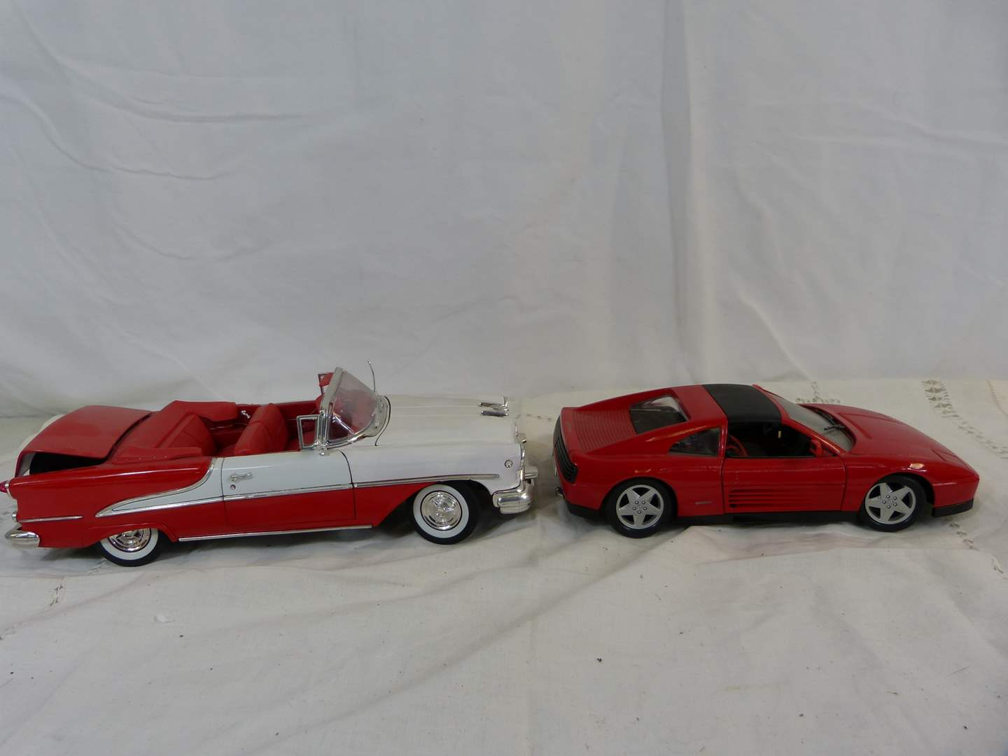 Lot # 97 Lot of 2 Diecast 1/18 Scale cars (main image)