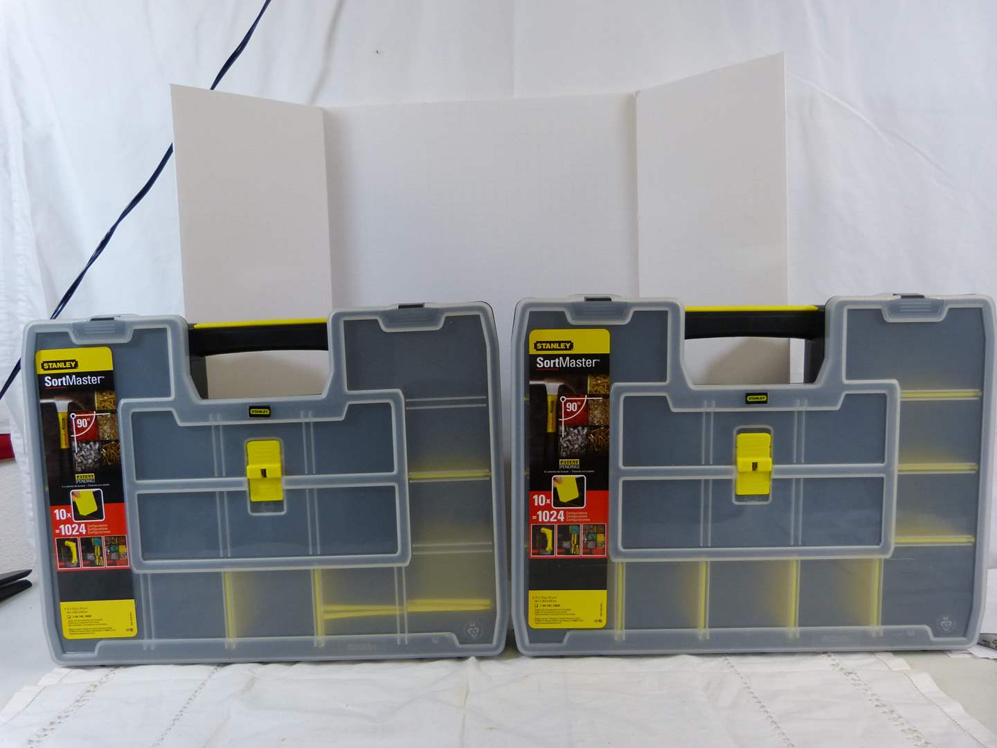 Lot # 200 2 Storage Sort Master boxes NEW (main image)