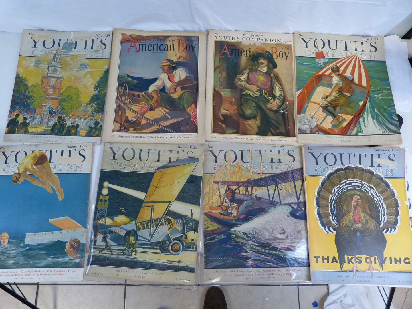 Lot # 248 Vintage collection of Youth magazines (main image)