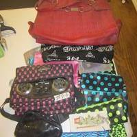 Auction Thumbnail for: Lot #26 lady purses, hand bags