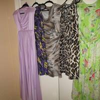 Auction Thumbnail for: Lot # 192 ladies designer dresses size 6-10 md