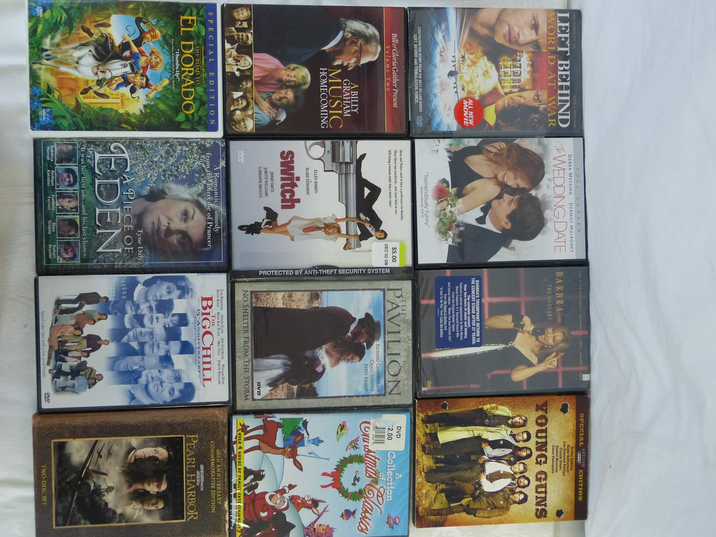 Lot # 140 Collection of DVD's (main image)