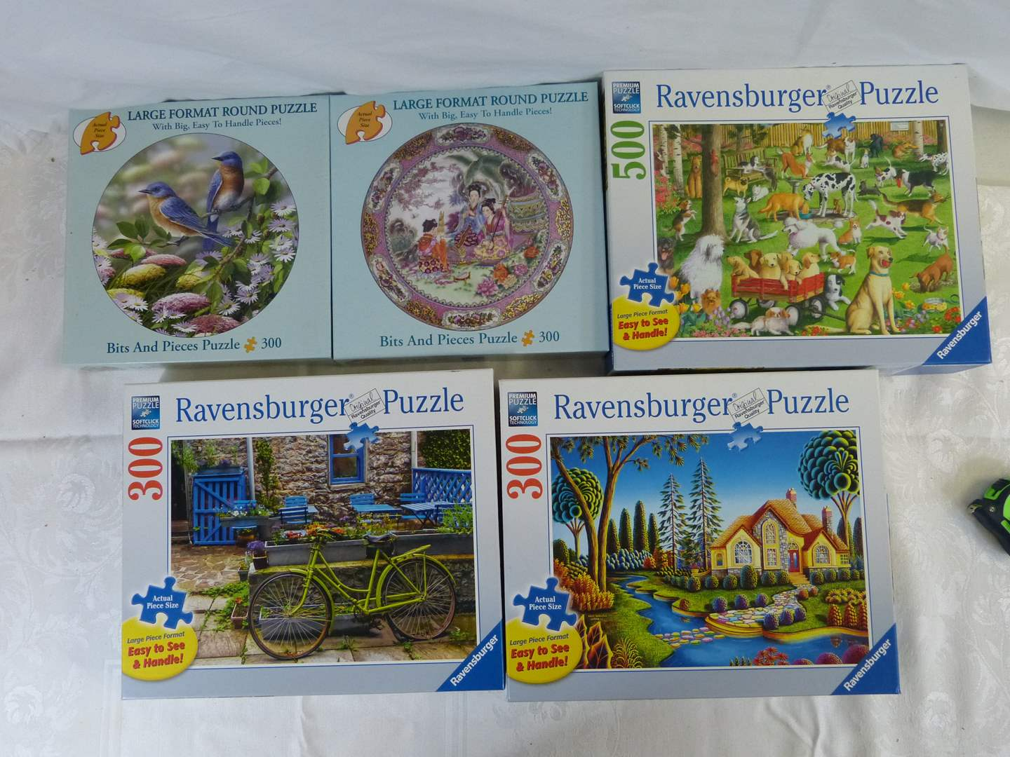 Lot # 171 Great lot of HIGH END puzzles (made 1 time) (main image)