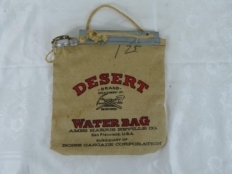 Lot # 187 Vintage Desert canvas Water Bag (main image)