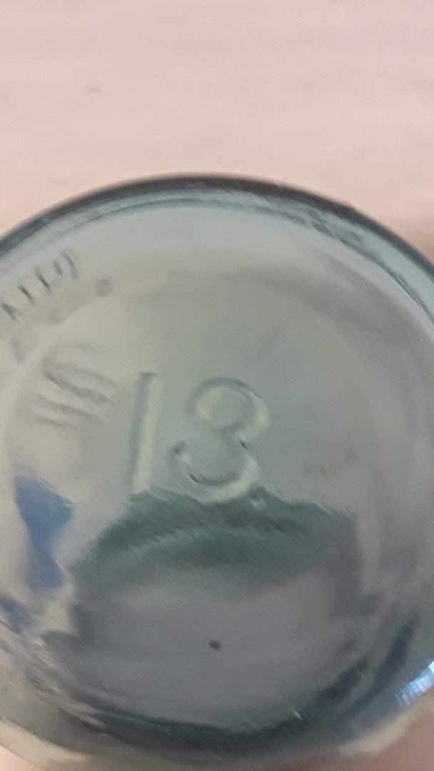 Lot # 7 RARE #13 BALL JAR WITH LID