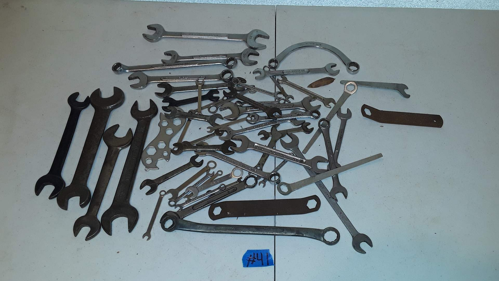 Lot # 41 MIXED WRENCHES