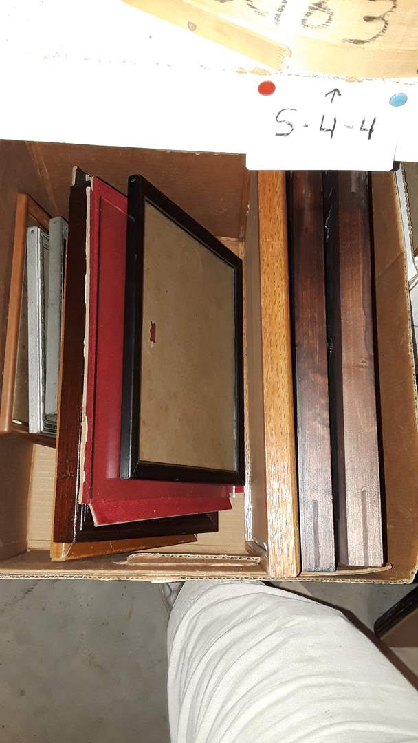 Lot # 125 MIXED PICTURE FRAMES