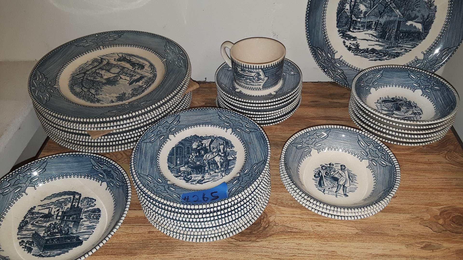 Lot # 265 MOUNT CLEMONS CHINA GOOD CONDITION