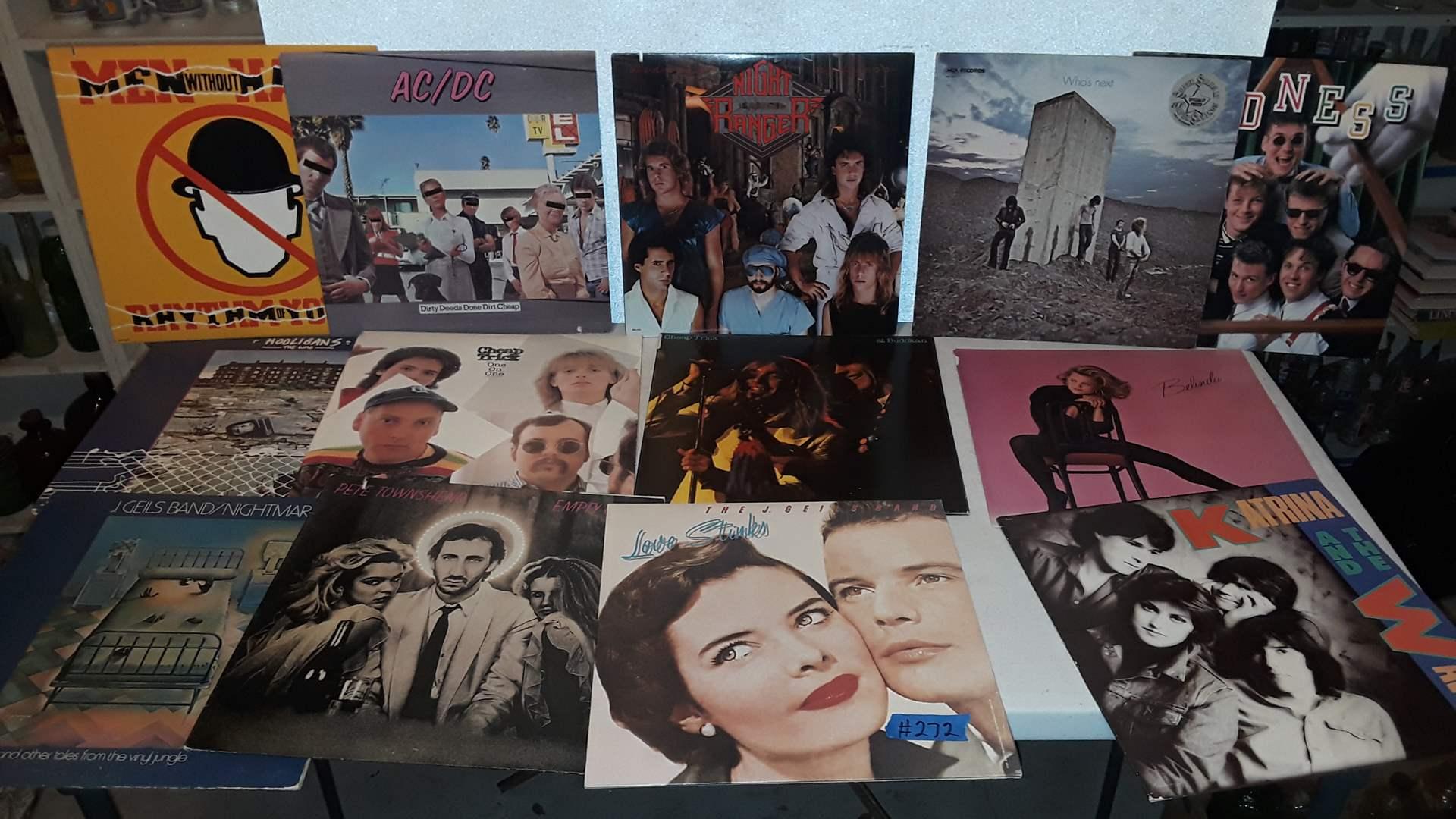 Lot # 272 - 1980's ALBUMS