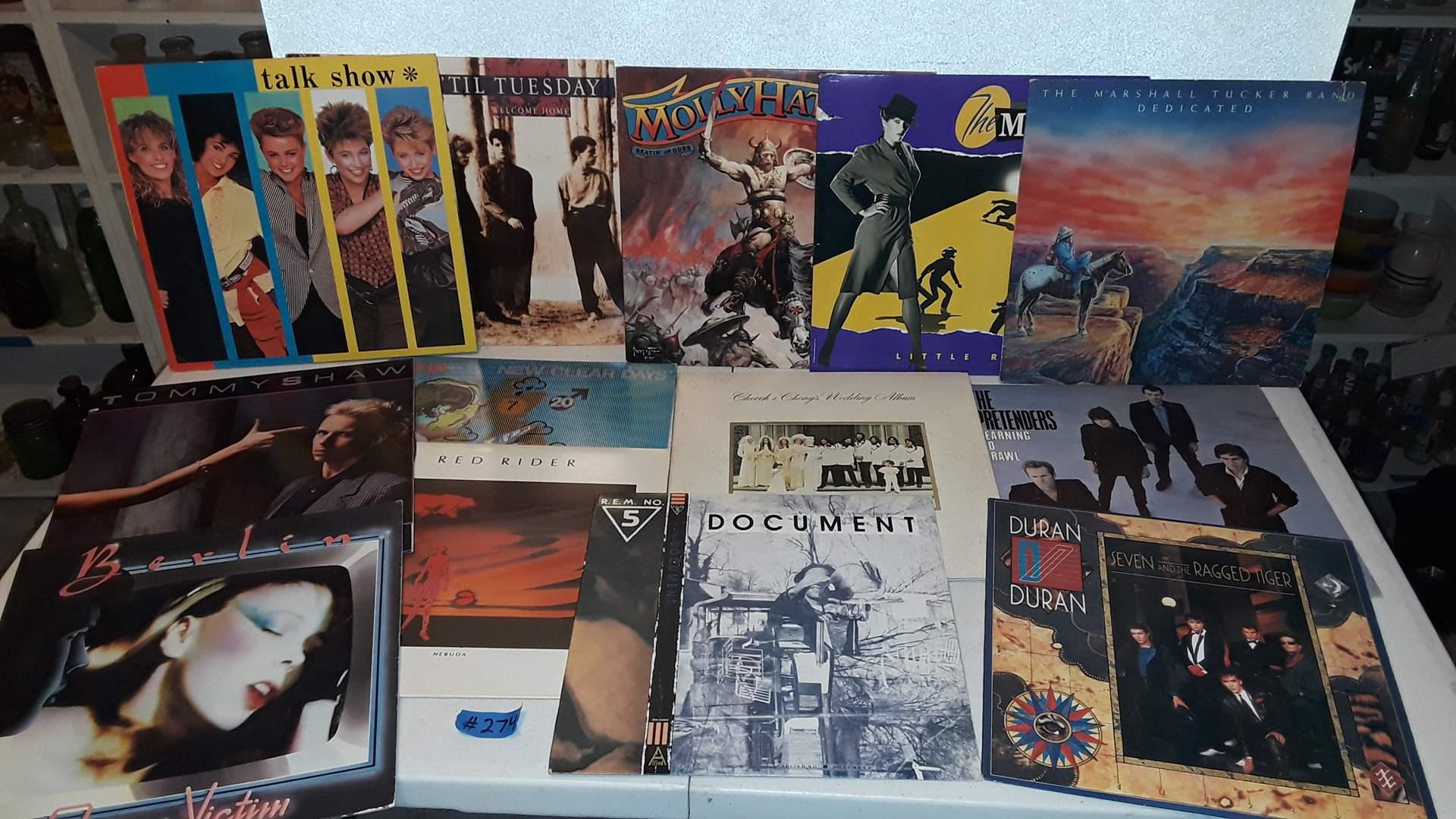 Lot # 274 - 1980's ALBUMS