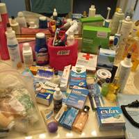Auction Thumbnail for: Lot #102 Medical Supplies and Toiletries
