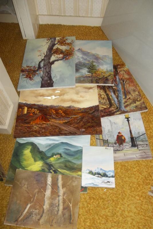 Original Thelma Wright Painting Group #1 (main image)