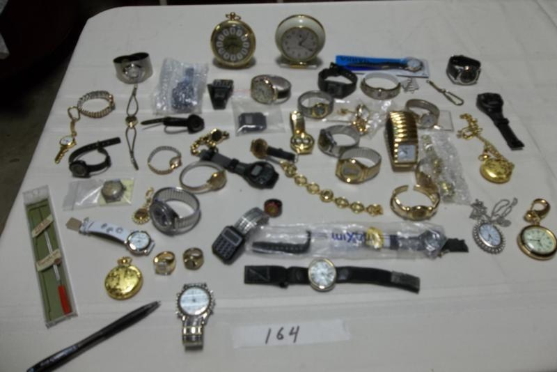 Lot #164 Watch Lot (main image)