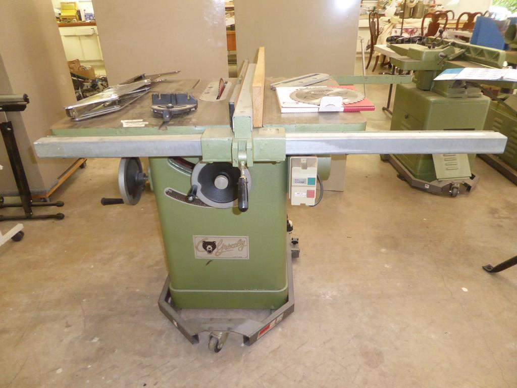 """Lot # 109 - Grizzly 10"""" Table Saw on Mobile Base - Works (main image)"""