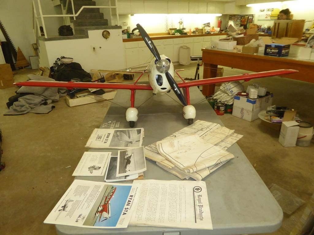 Lot # 167 - Single Cylinder Radio Control Model Airplane (main image)