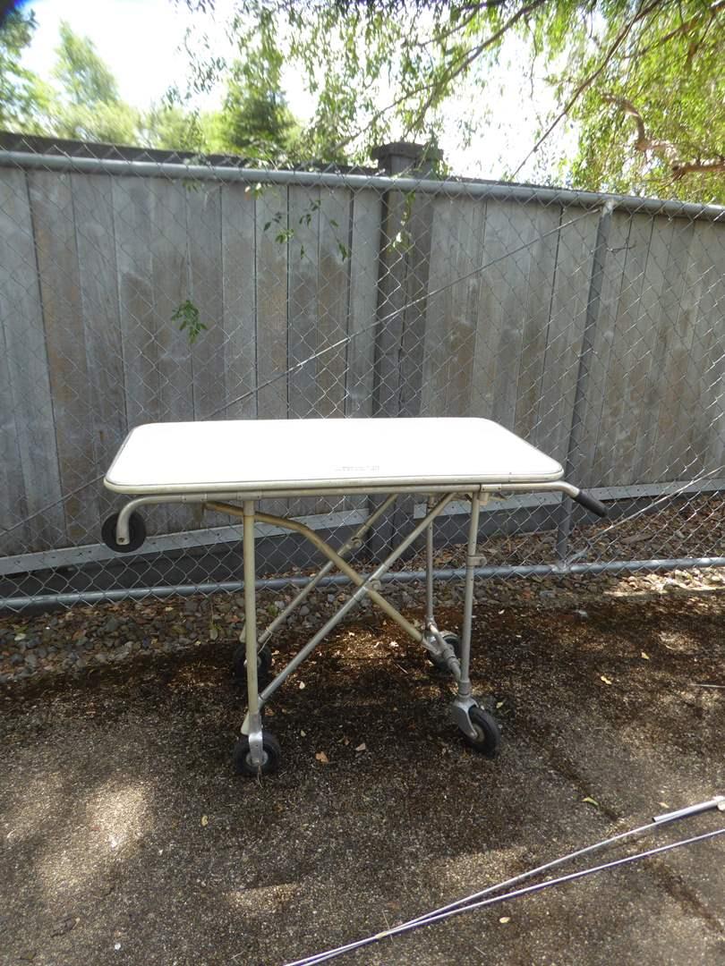 "Lot # 27 - Small ""Ferno Washington"" Aluminum Operating Table  (main image)"
