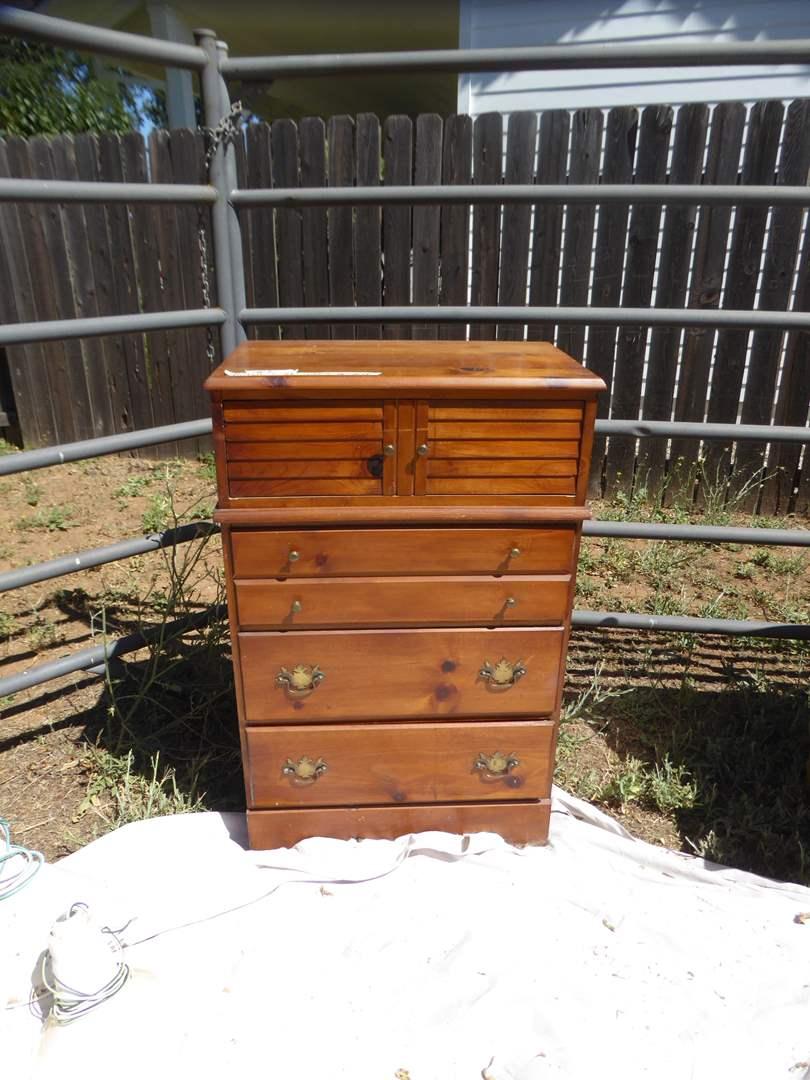 Lot # 2 - Cute Wooden Dresser  (main image)