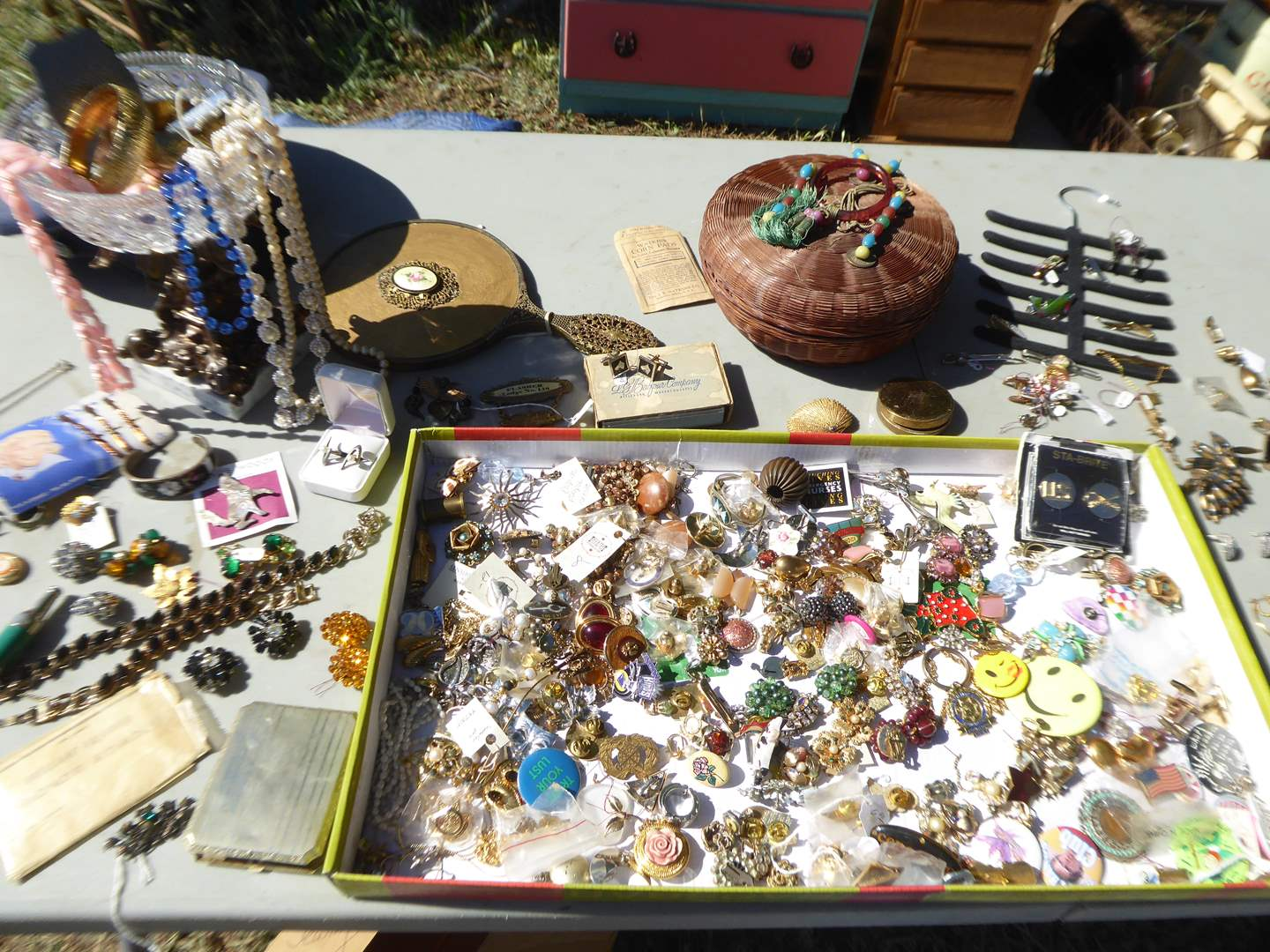 Lot # 27 - Vintage & Modern Fashion Jewelry + A few Sterling Pieces (main image)