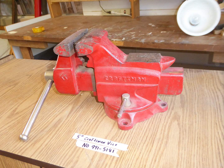 Lot # 175 - Craftsman Vise  (main image)