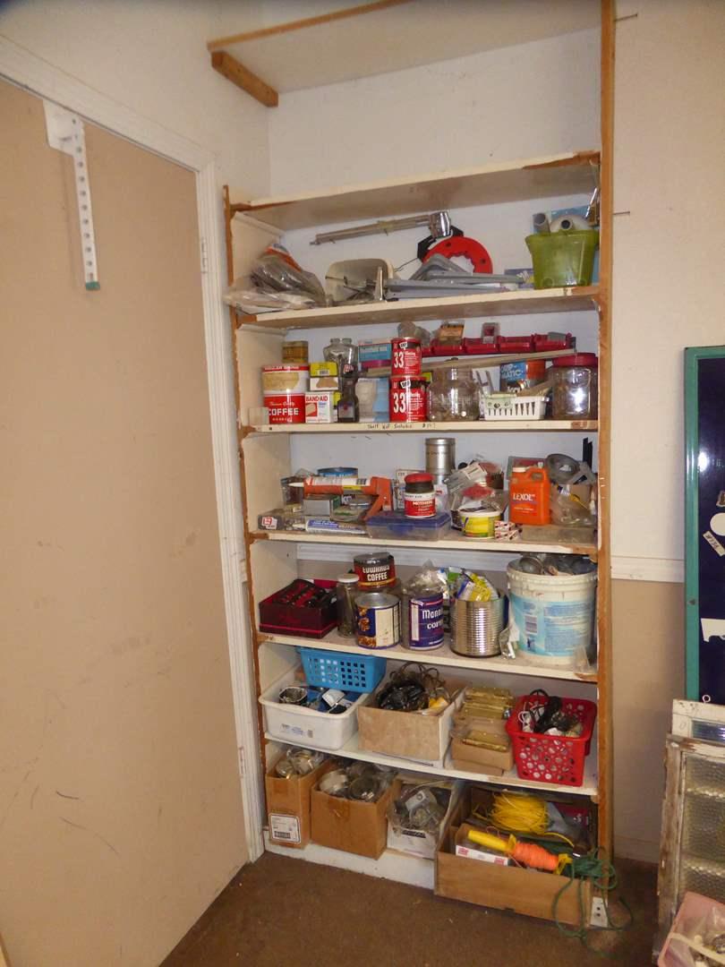 Lot # 197 - Hardware ,Hinges & Home Repair Supplies  (main image)