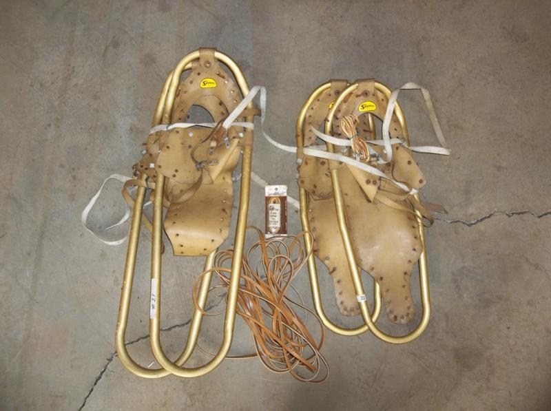 Lot #21 2 Pair of Vintage Snow Shoes (main image)
