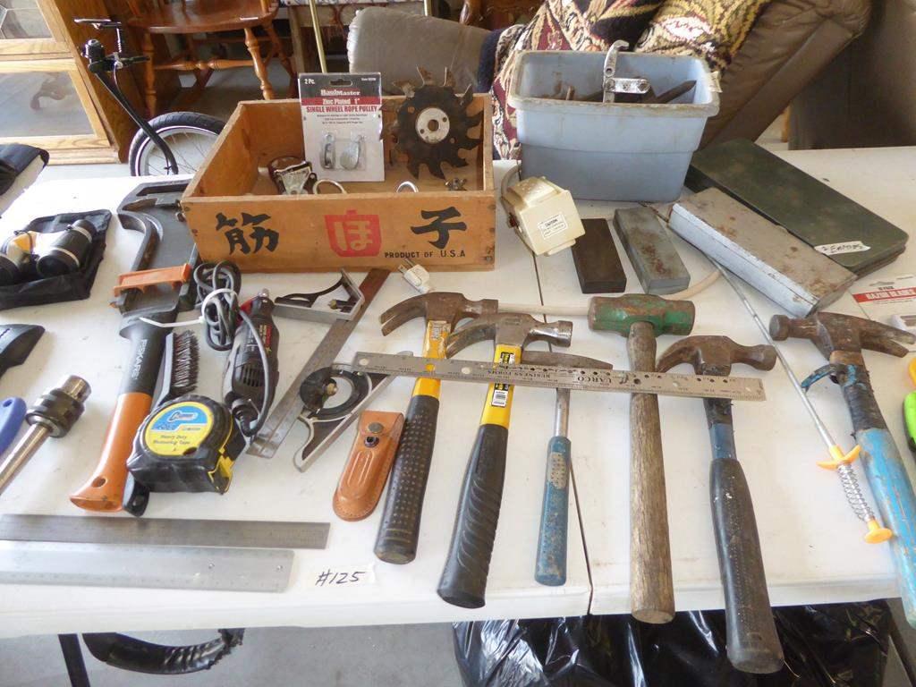 Lot # 125 - Misc. Tools (main image)
