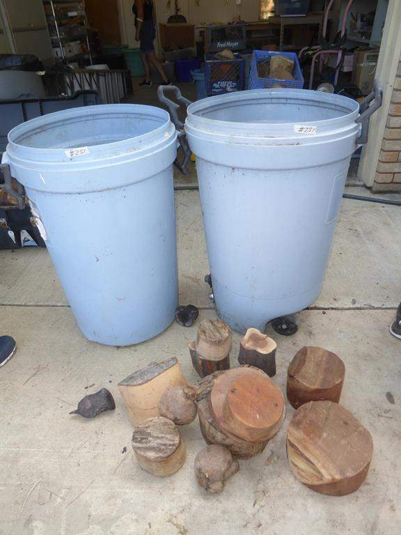 Lot # 251 - Assorted Wood Turning Blanks For Bowls & Craft Wood (main image)