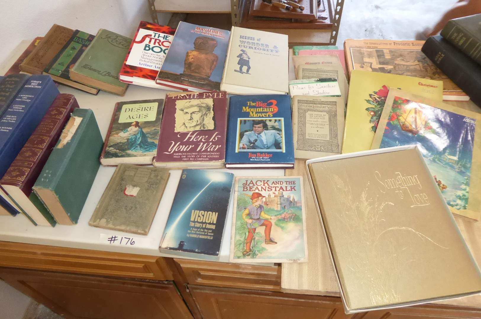 Lot # 176 - Vintage & Antique Book Lot  (main image)