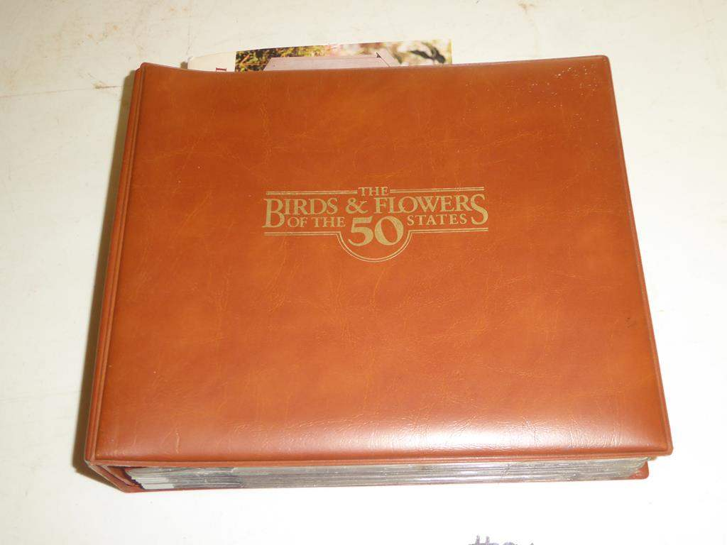 Lot # 96 - Vintage The Birds & Flowers of The 50 States of Official First Day Covers & Stamps by Arthur & Alan Singer (main image)