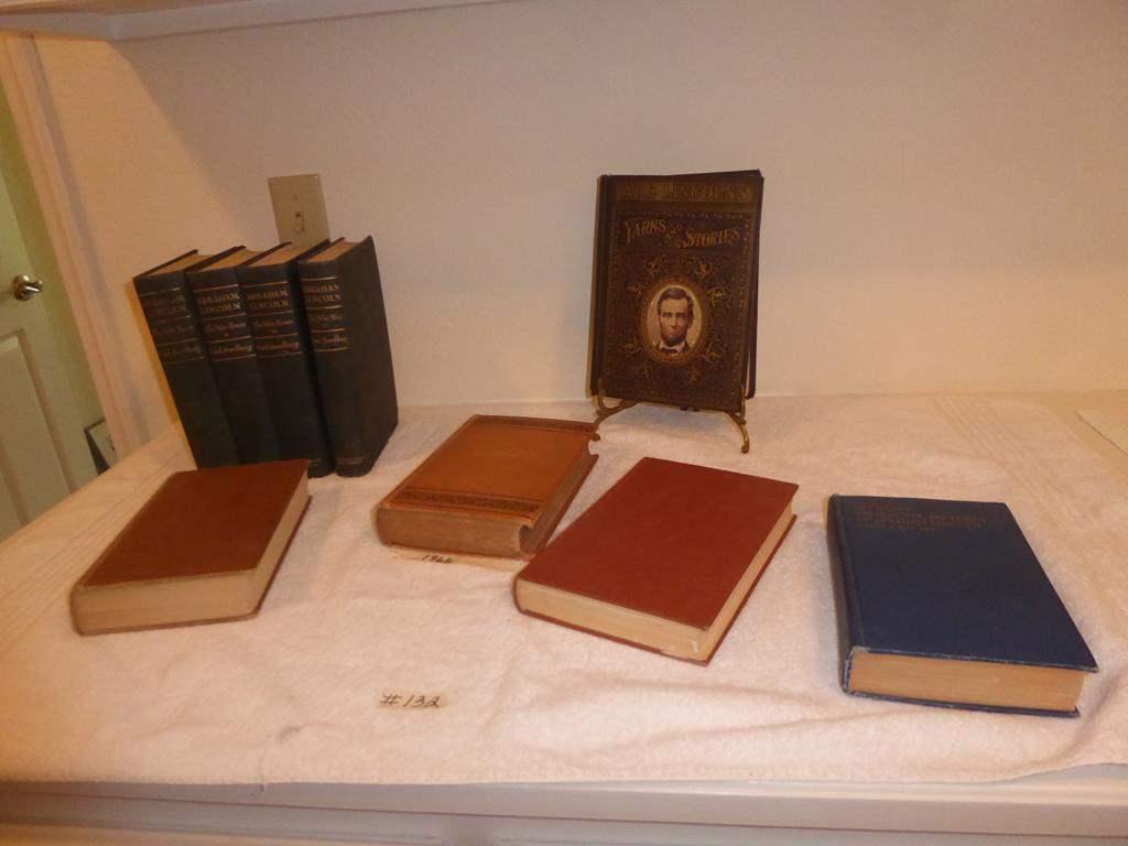 Lot # 132 - Antique & Vintage Abraham Lincoln Books (main image)