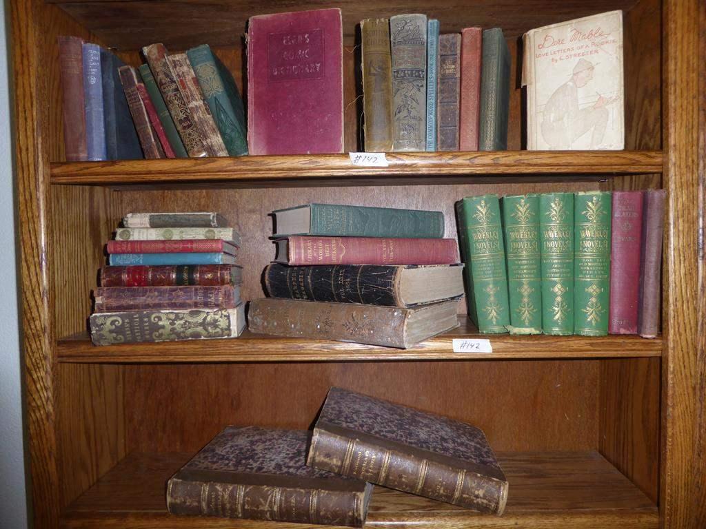 Lot # 142 - Antique & Vintage Books Collection (main image)