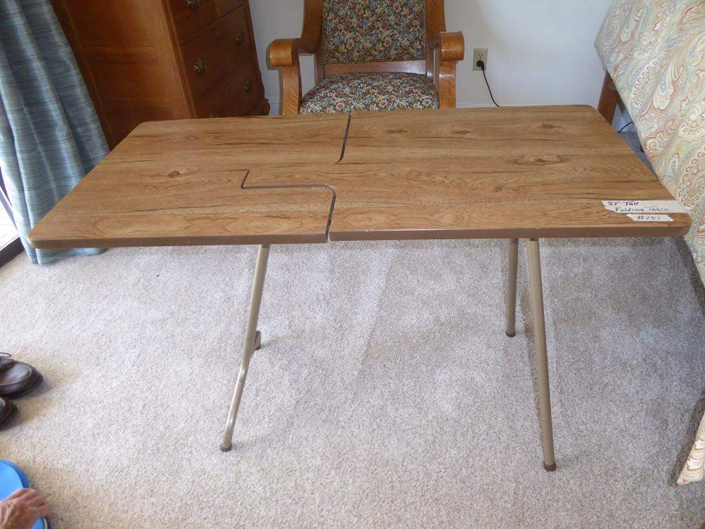 Lot # 151 - Portable Folding Sewing Machine Table (main image)