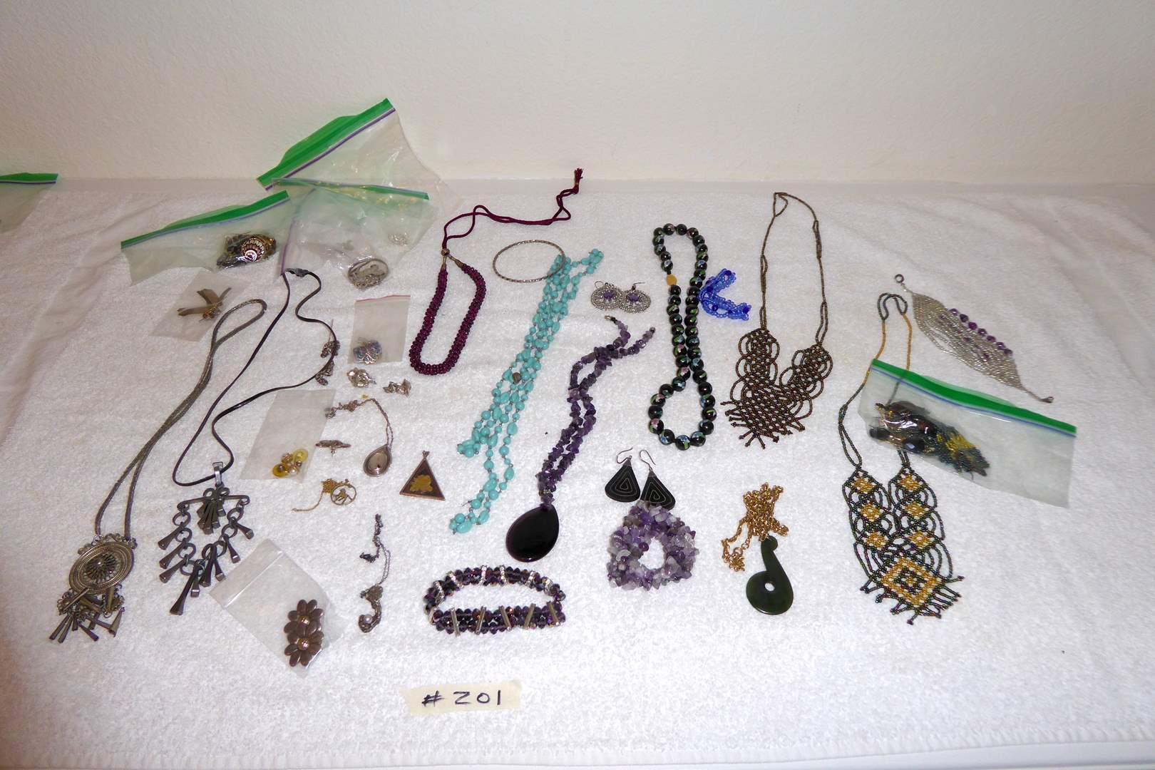 Lot # 201 - Lot Of Fashion & Costume Jewelry  (main image)