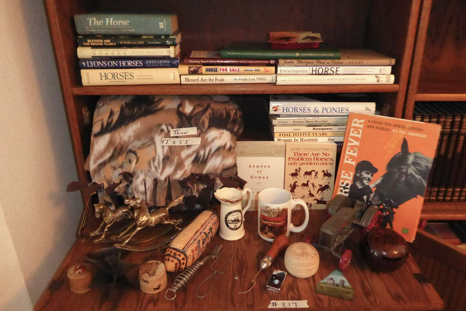 Lot # 217 - Horse Books & Vintage & Modern Collectibles  (main image)