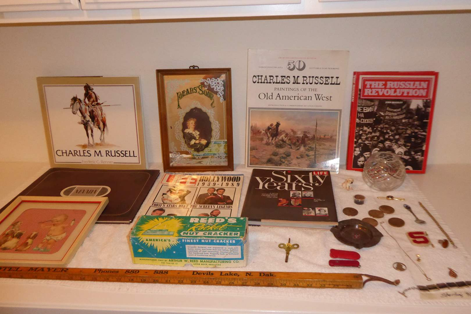 Lot # 240 - Collectibles Lot (Books Coins & Jewelry) (main image)