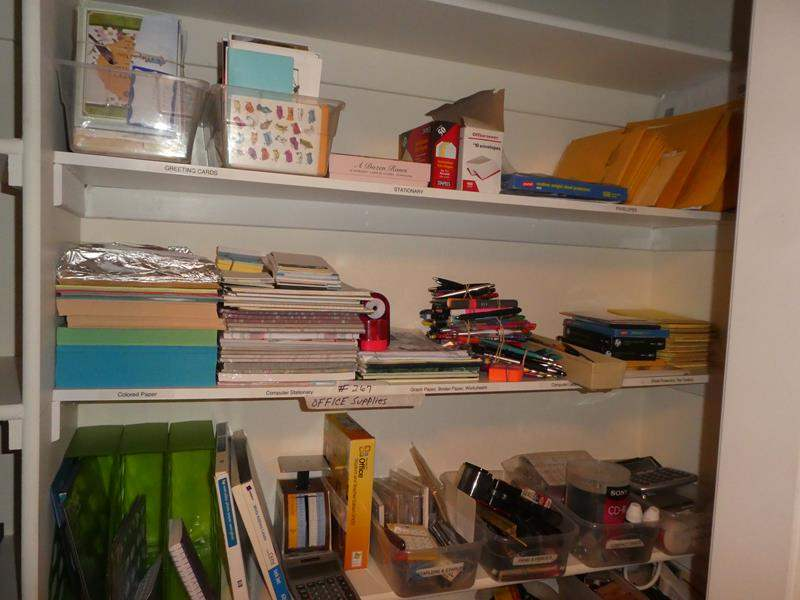 Lot # 267 - Office Supplies (main image)