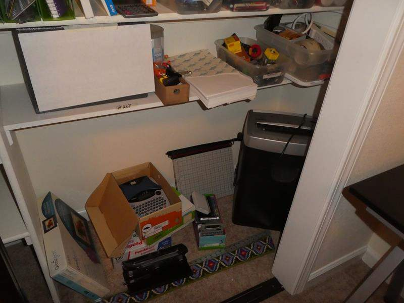 Lot # 268 - Paper Shredder, Paper Cutter & Office Supplies  (main image)