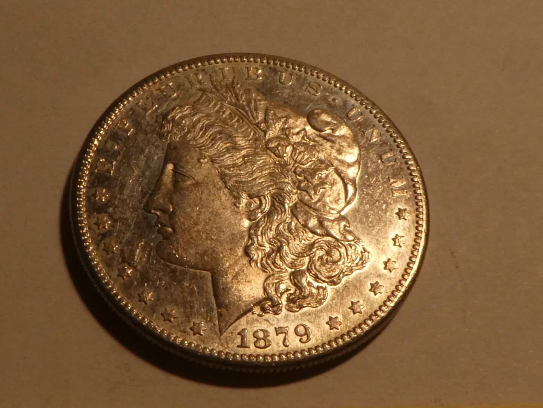Lot # 162 - 1879 S Morgan Silver Dollar (main image)