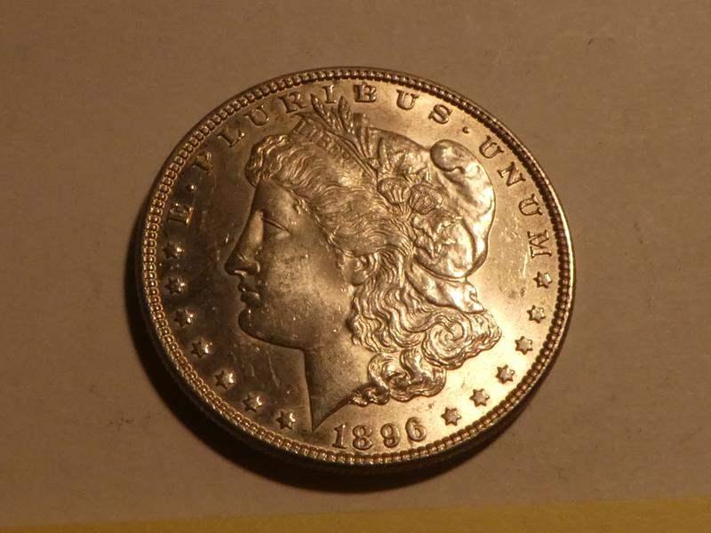 Lot # 163 - 1889 Morgan Silver Dollar  - No Mint Mark (main image)