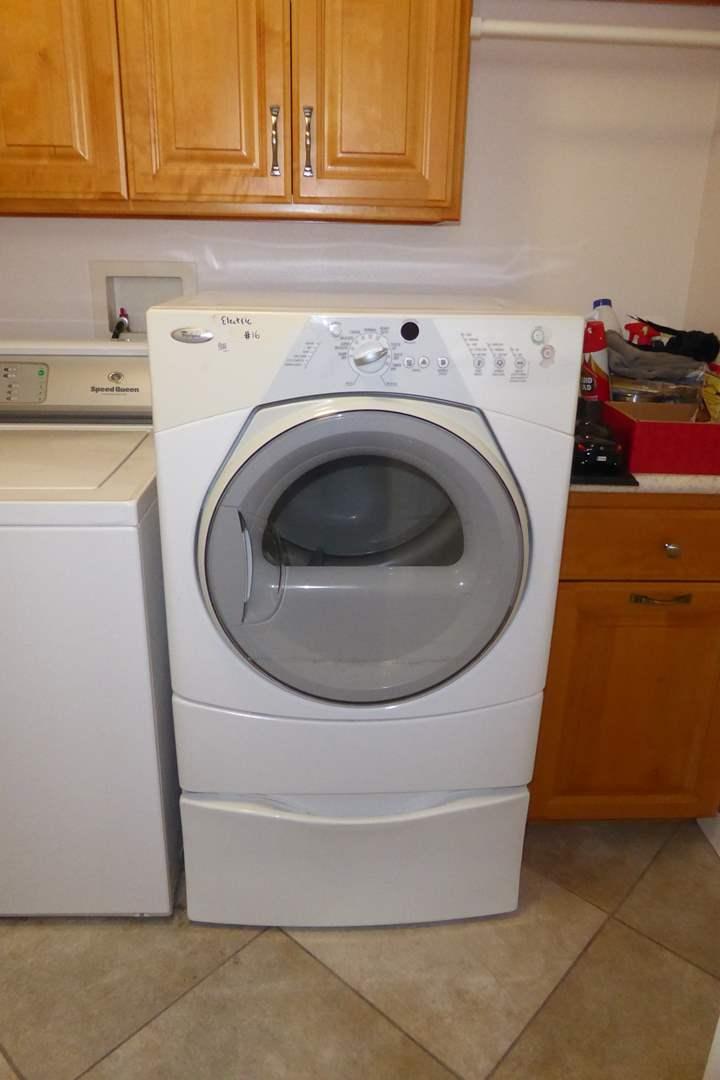 "Lot # 16 - Whirlpool ""Duet Sport"" Electric Dryer  (main image)"