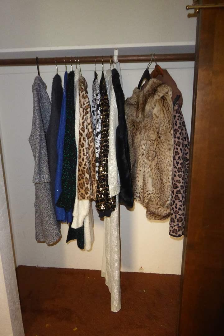 Lot # 107 - Fur Coat, Jackets & Sweaters  (main image)