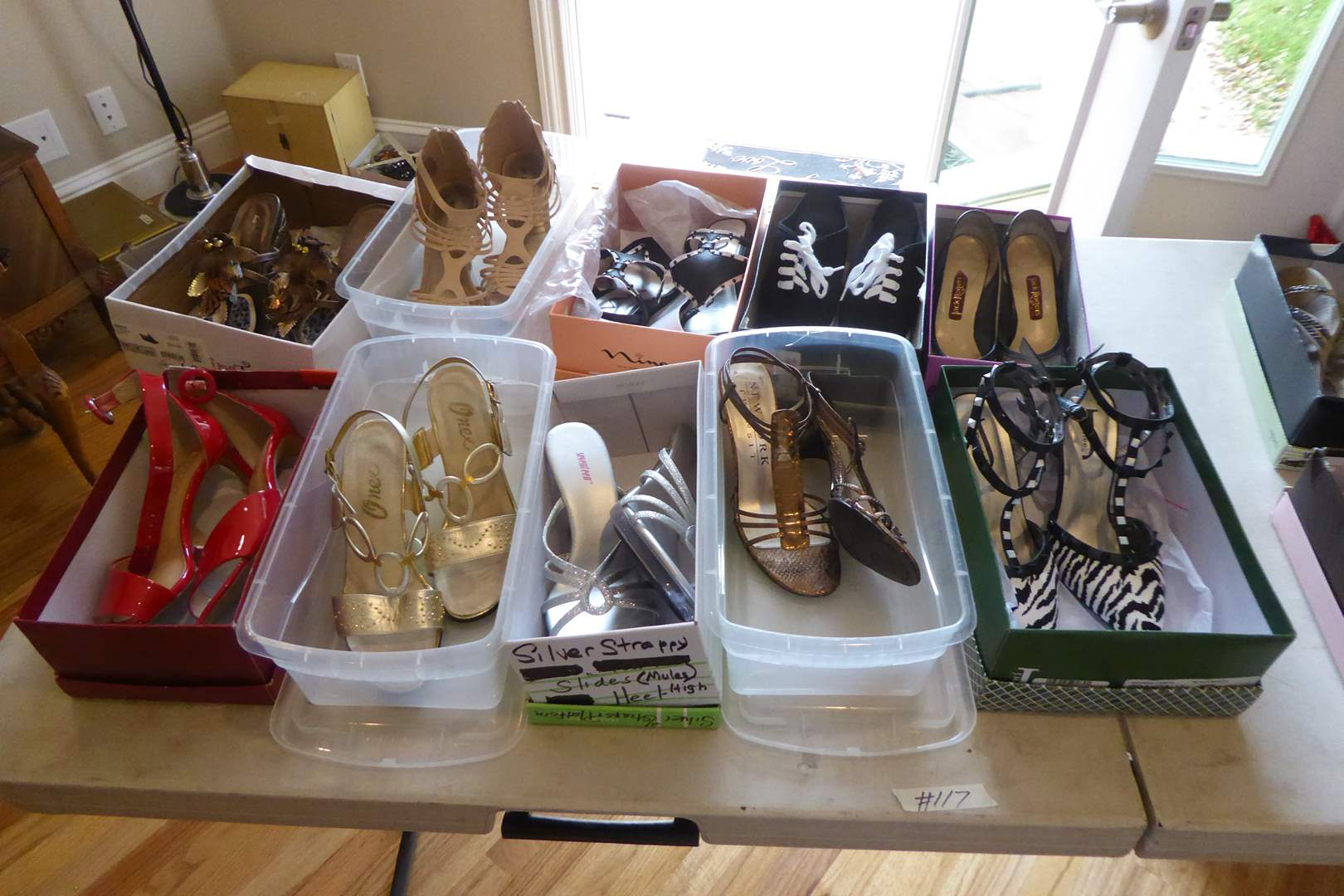 Lot # 117 - Women's High Heels (Mostly Size 7) (main image)