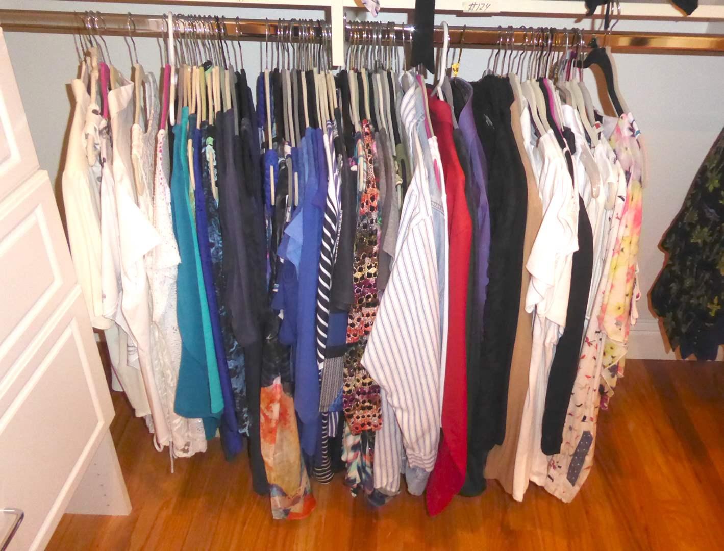 Lot # 124 - Women's Shirts & Blouses (main image)