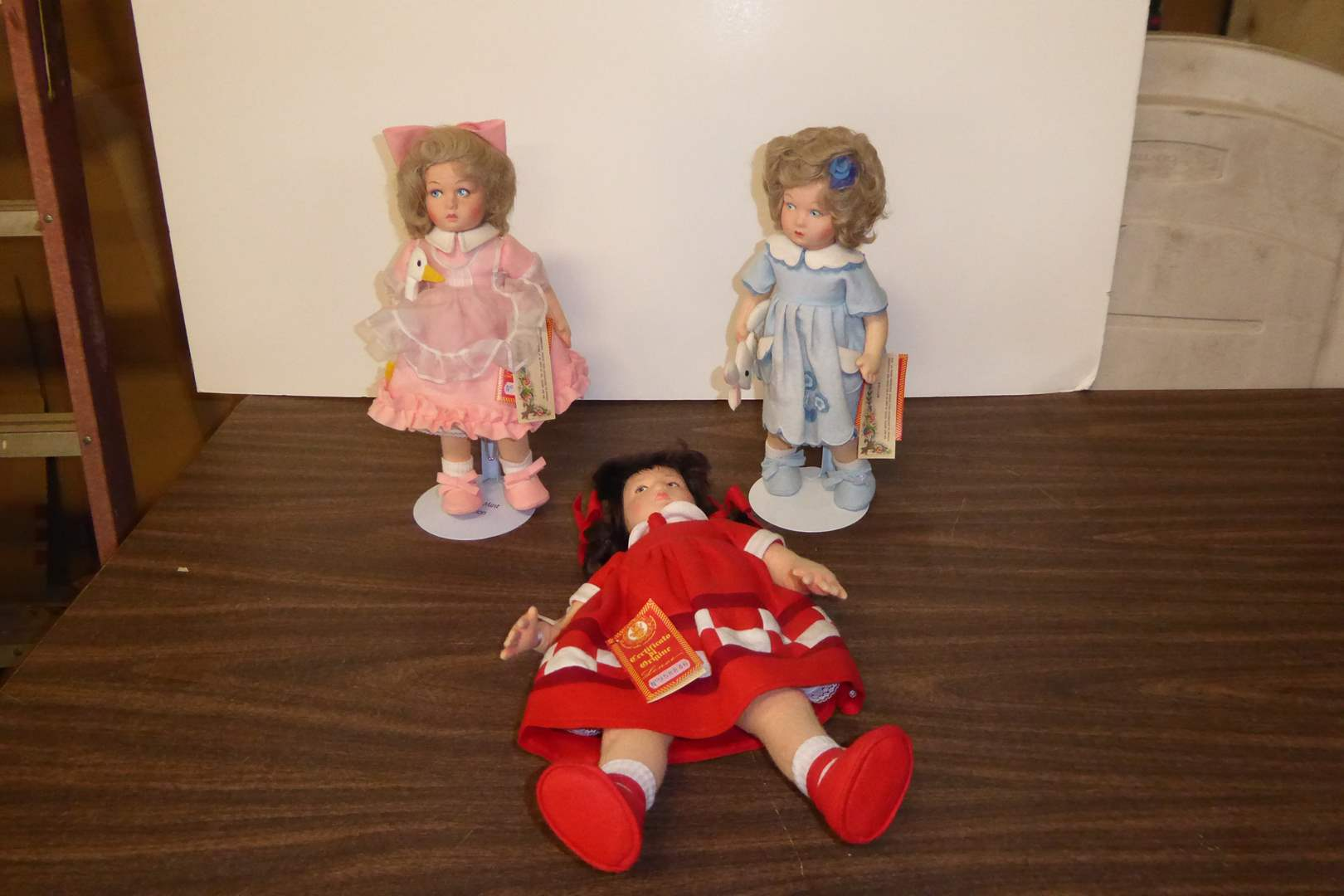 Lot # 105 - Lenci French Felt Dolls  (main image)
