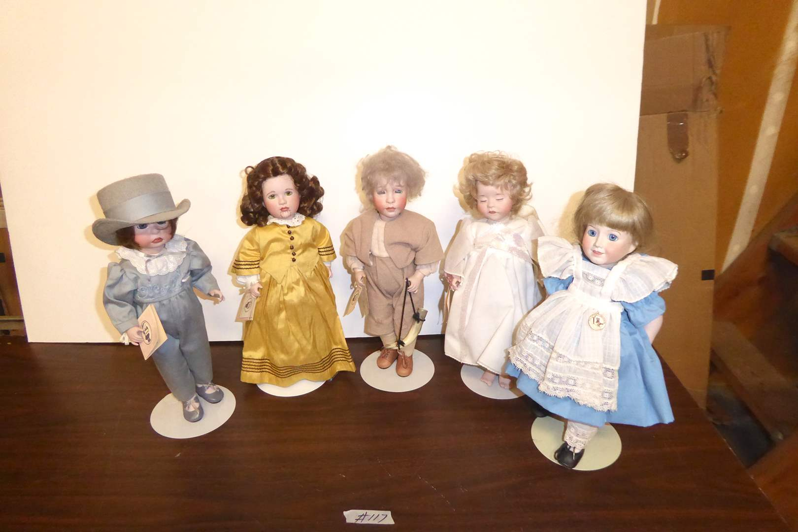 Lot # 117 - Wendy Lawton Collectible Dolls  (main image)