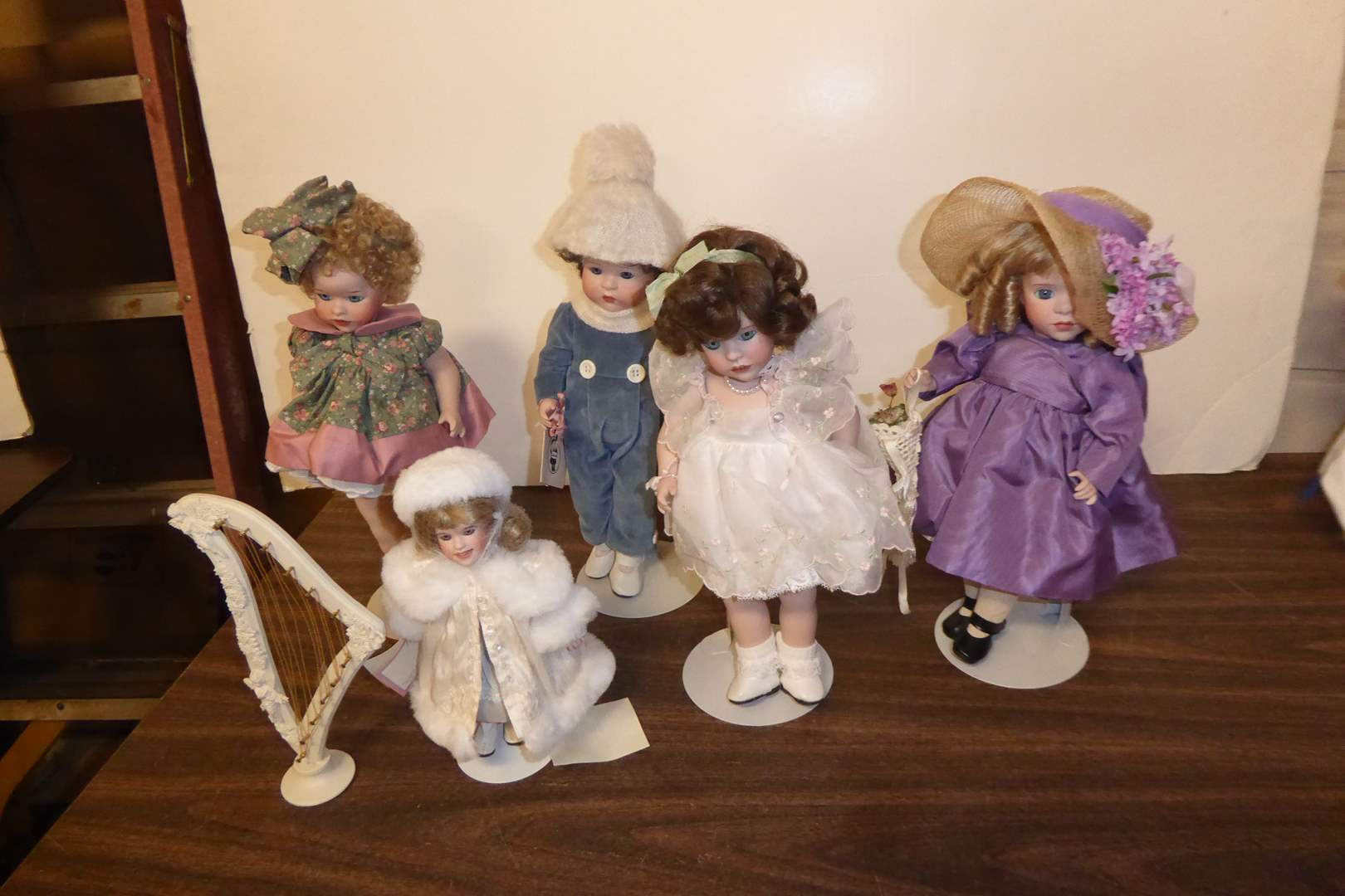 Lot # 121 - Wendy Lawton Collectible Dolls  (main image)